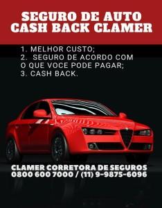 Seguro de Auto Cash Back