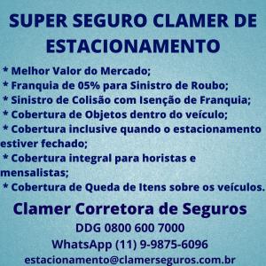 SUPER SEGURO CLAMER DE ESTACIONAMENTO (1)