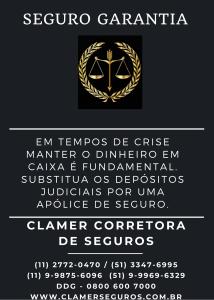SEGURO GARANTIA - DEPÓSITO JUDICIAL